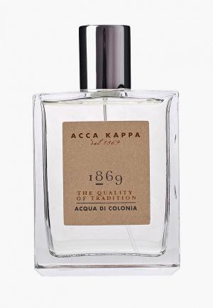 Одеколон Acca Kappa 1869 30 мл. Цвет: прозрачный