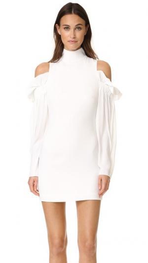 Мини-платье Azha AQ/AQ. Цвет: белый