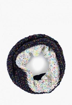 Снуд Buff Knitted&Polar Neckwarmer Janna. Цвет: синий
