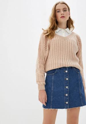 Пуловер Dorothy Perkins. Цвет: розовый