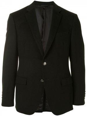 Durban однобортный пиджак строгого кроя D'urban. Цвет: черный