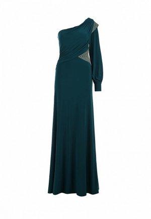 Платье Corleone. Цвет: зеленый