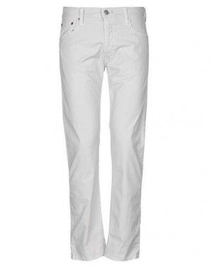 Повседневные брюки HTC. Цвет: светло-серый
