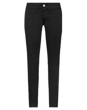 Джинсовые брюки COMPAGNIA ITALIANA. Цвет: черный