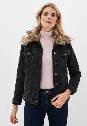 Куртка джинсовая Mavi KARLA. Цвет: серый