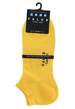 Носки FALKE. Цвет: желтый
