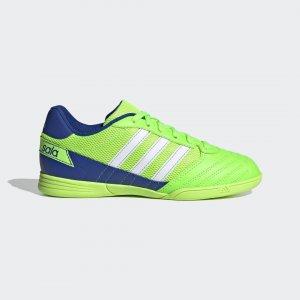 Футбольные бутсы (футзалки) Super Sala Performance adidas. Цвет: белый