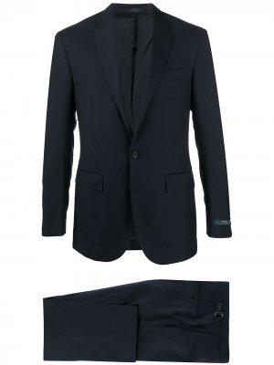 Костюм с однобортным пиджаком Polo Ralph Lauren. Цвет: синий