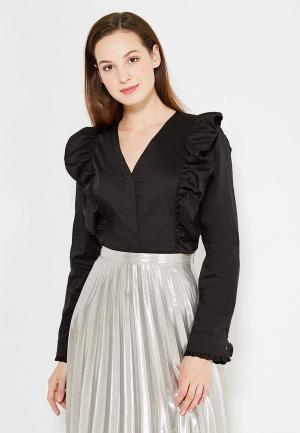 Блуза Tutto Bene. Цвет: черный