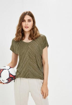 Футболка Betty & Co. Цвет: хаки