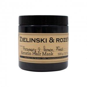 Кератиновая маска для волос Rosemary & Lemon, Neroli Zielinski&Rozen. Цвет: бесцветный