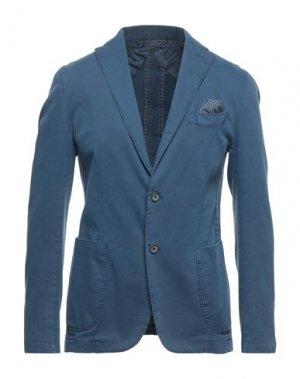 Пиджак JERRY KEY. Цвет: грифельно-синий