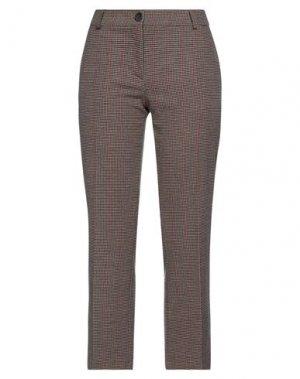 Повседневные брюки SEMICOUTURE. Цвет: верблюжий