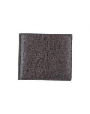 Бумажник CHURCH'S. Цвет: темно-коричневый