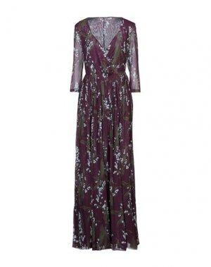 Длинное платье ALEXANDER TEREKHOV. Цвет: фиолетовый