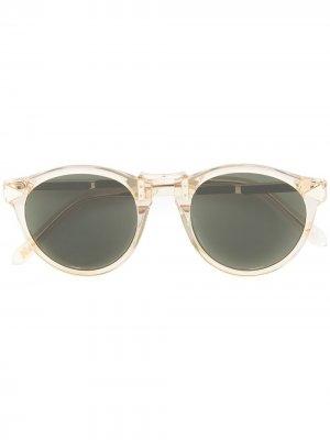Солнцезащитные очки Hemingway Karen Walker. Цвет: желтый