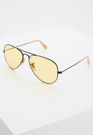 Очки солнцезащитные Ray-Ban® RB3025 90664A. Цвет: черный