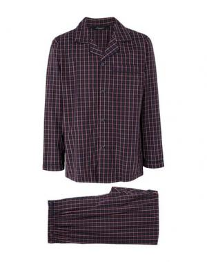 Пижама AMBASSADOR. Цвет: красно-коричневый
