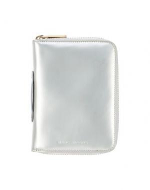 Бумажник MARC JACOBS. Цвет: серый