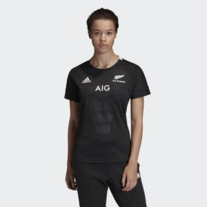 Домашняя футболка All Blacks Performance adidas. Цвет: черный