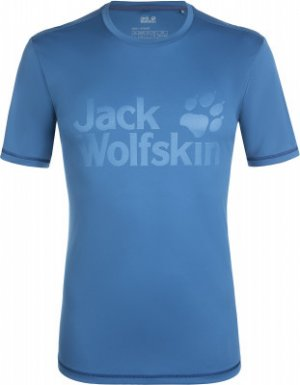 Футболка мужская Jack Wolfskin Sierra, размер 54-56. Цвет: синий
