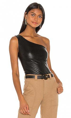 Боди faux leather Commando. Цвет: черный