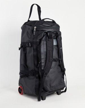 Черный чемодан-дафл на колесиках Base Camp-Черный цвет The North Face