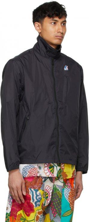 Black K-Way Edition Packable Crepin 3.0 Jacket Engineered Garments. Цвет: black