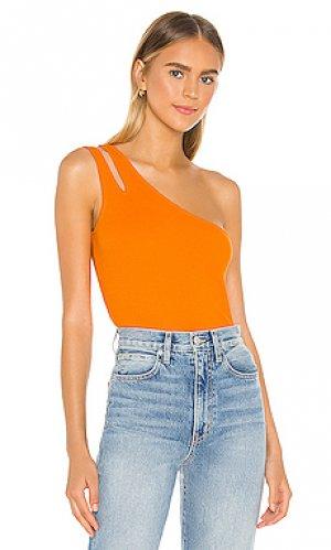 Майка Autumn Cashmere. Цвет: оранжевый