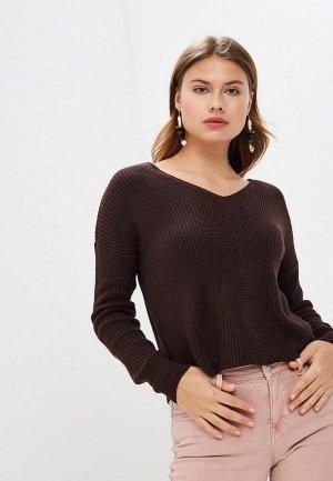 Пуловер Miss Selfridge. Цвет: коричневый