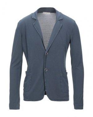 Пиджак DANIELE FIESOLI. Цвет: грифельно-синий