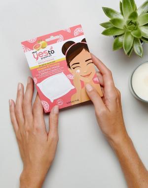 Освежающая маска для лица с витамином и экстрактом грейпфрута Yes To-Бесцветный TO