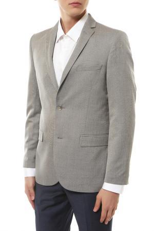 Пиджак mishelin. Цвет: серый, микродизайн