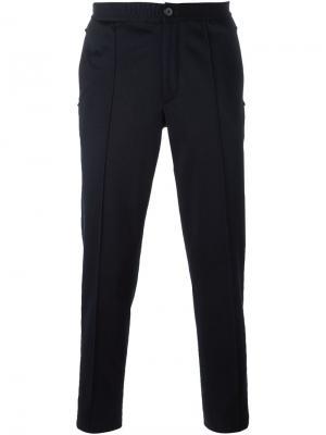 Классические брюки Lanvin. Цвет: синий