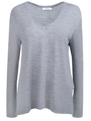 Пуловер свободного кроя DOROTHEE SCHUMACHER. Цвет: серый