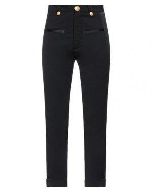 Повседневные брюки PIERRE BALMAIN. Цвет: черный