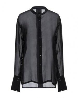 Pубашка ILARIA NISTRI. Цвет: черный