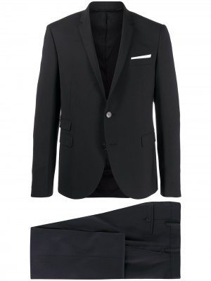 Костюм с однобортным пиджаком Neil Barrett. Цвет: черный