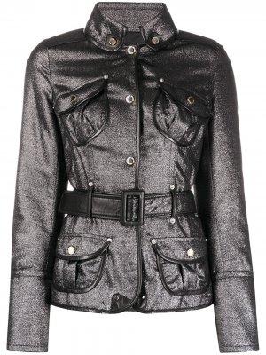 Куртка 1990-х годов на пуговицах Gianfranco Ferré Pre-Owned. Цвет: серебристый