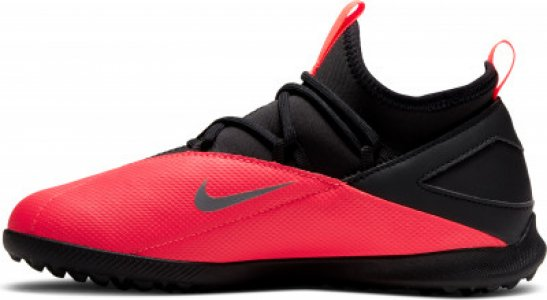 Бутсы для мальчиков Jr Phantom Vsn 2 Club Df Tf, размер 35 Nike. Цвет: розовый