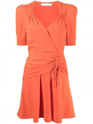 Платье Lilit Jonathan Simkhai. Цвет: оранжевый
