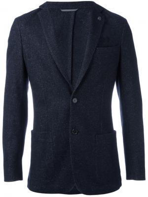 Пиджак с застежкой на пуговицы Michael Kors. Цвет: синий