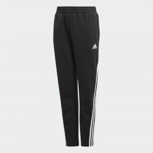 Брюки 3-Stripes Tapered Performance adidas. Цвет: черный