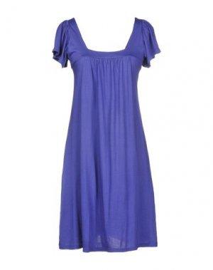 Короткое платье MICHAEL STARS. Цвет: фиолетовый