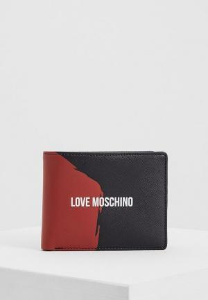 Кошелек Love Moschino. Цвет: черный