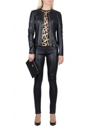 Куртка Versace Collection. Цвет: черный