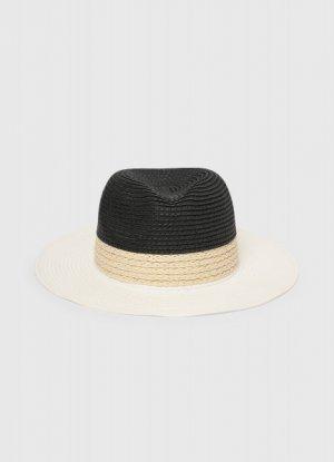 Соломенная шляпа O`Stin. Цвет: светло-бежевый