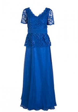 Платье MIKAEL. Цвет: синий