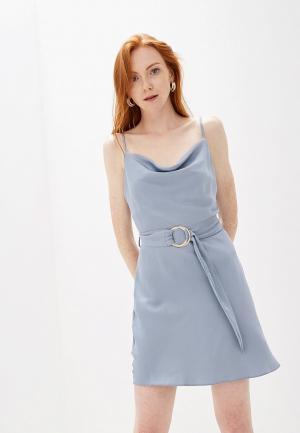 Платье River Island. Цвет: синий