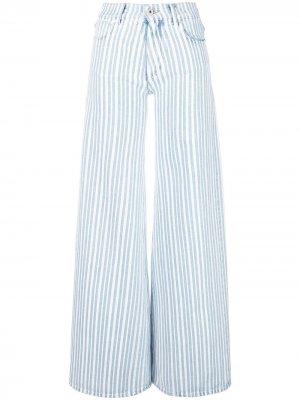 Широкие джинсы Off-White. Цвет: синий